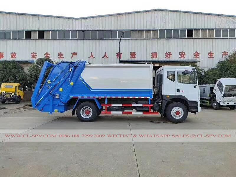 Dongfeng D9 compactador de carga trasera