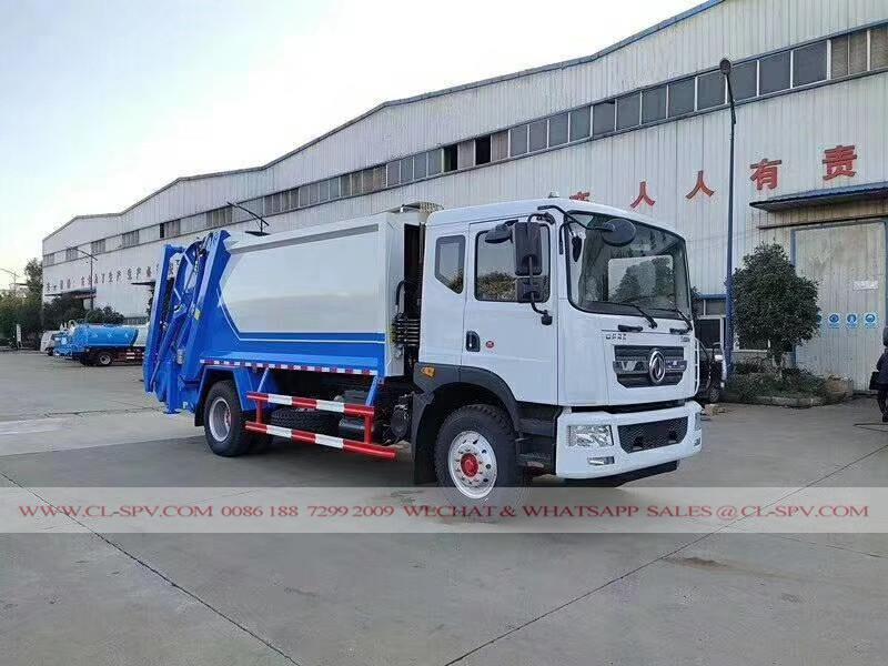 Dongfeng compactador de carga trasera