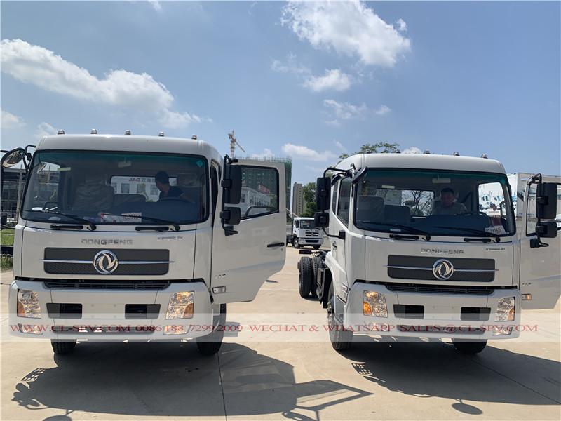 DFL3120B1 dump truck chassis