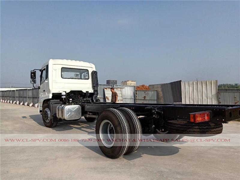 Dongfeng kingrun DFL3120B1 свалка шасси грузовика