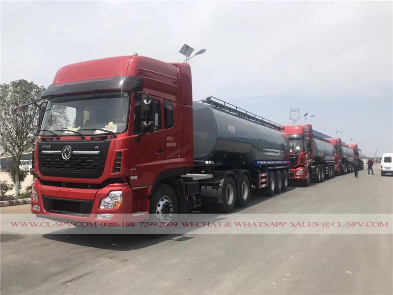 Dongfeng tianlong water trailer