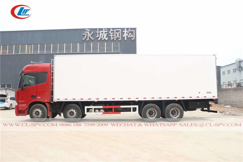 fotos 8x4 12 rodas refrigerado caminhão