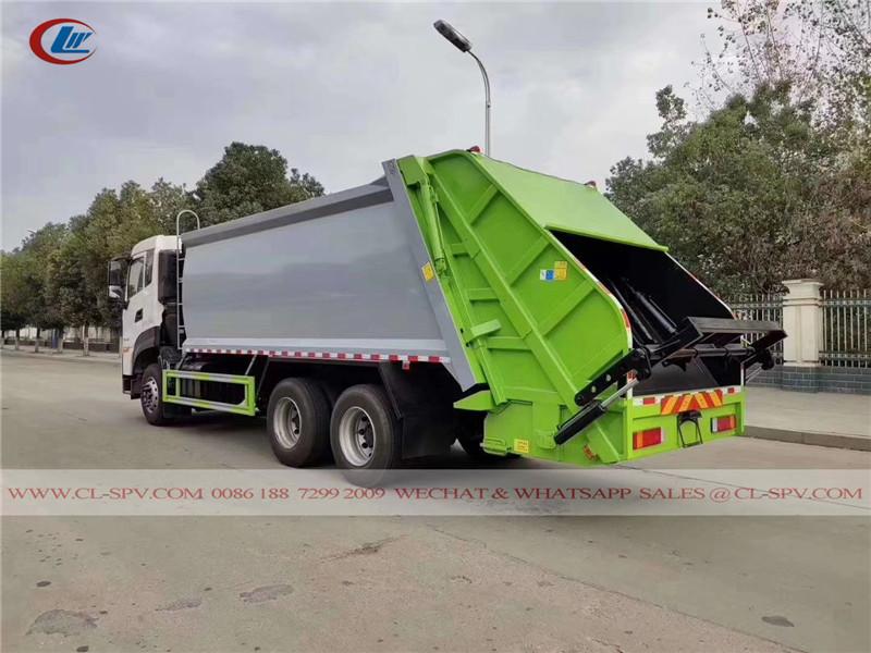 Dongfeng KL rear loader garbage compactor