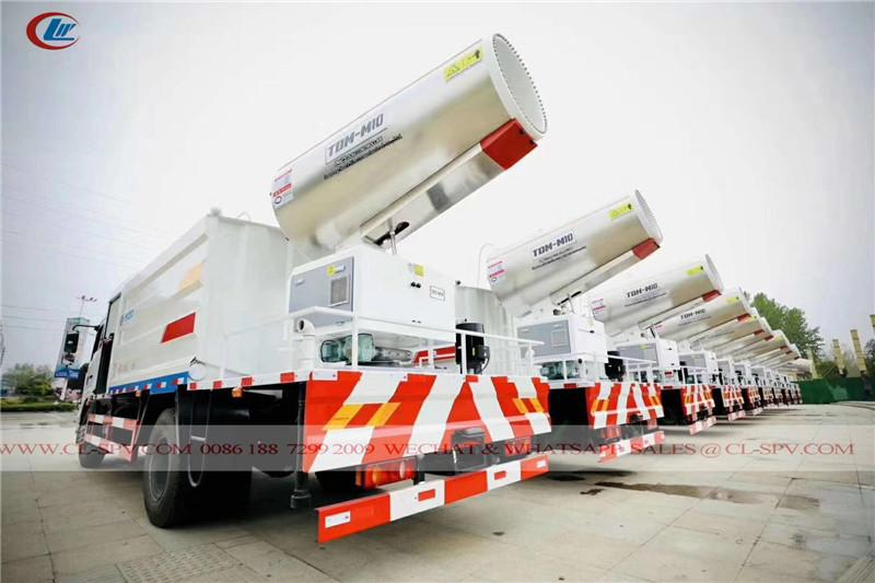 Caminhão de desinfecção de Chengli para os Emirados Árabes Unidos