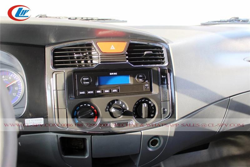 Radio de camión volquete Dongfeng