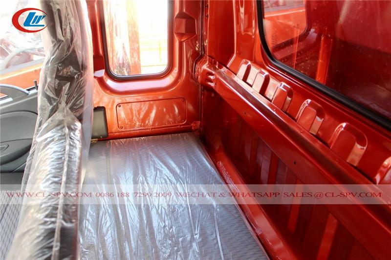 Habitación de la cama del camión volquete Dongfeng