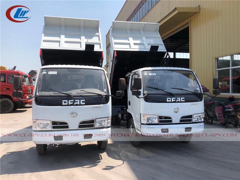 DFAC 5 toneladas camião basculante