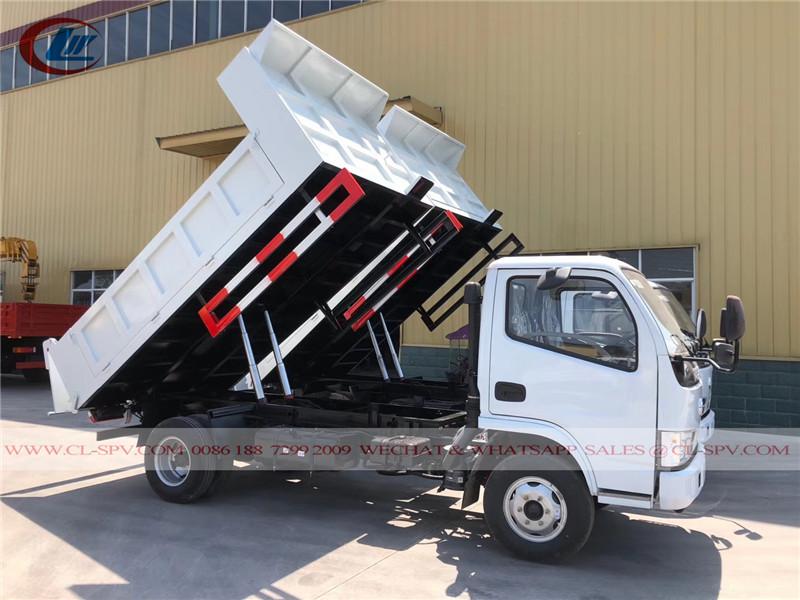 Dongfeng 5 toneladas caminhão basculante