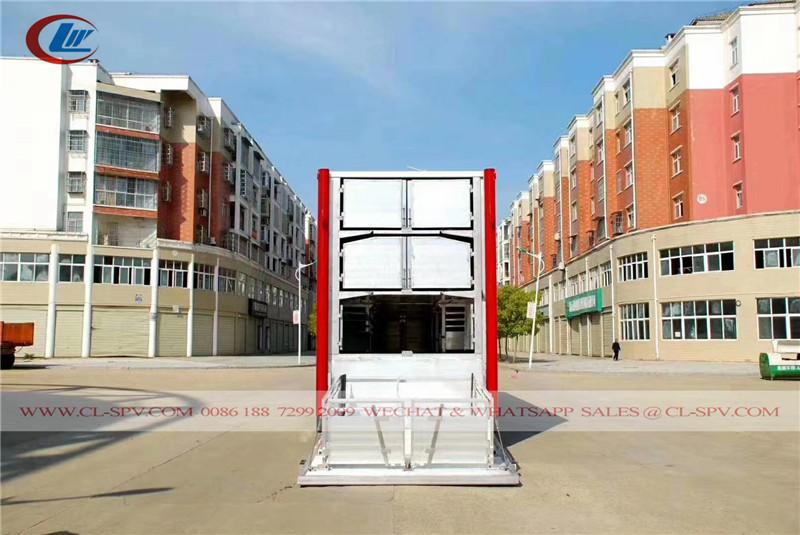 Dongfeng Trasportatore di bestiame e pollame in alluminio
