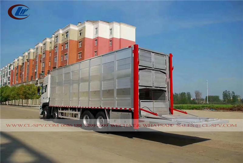 Dongfeng Trasportatore di pollame in alluminio
