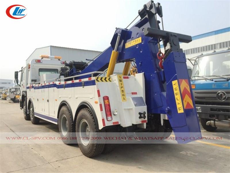 Howo 6x4 35 tons heavy duty towing truck