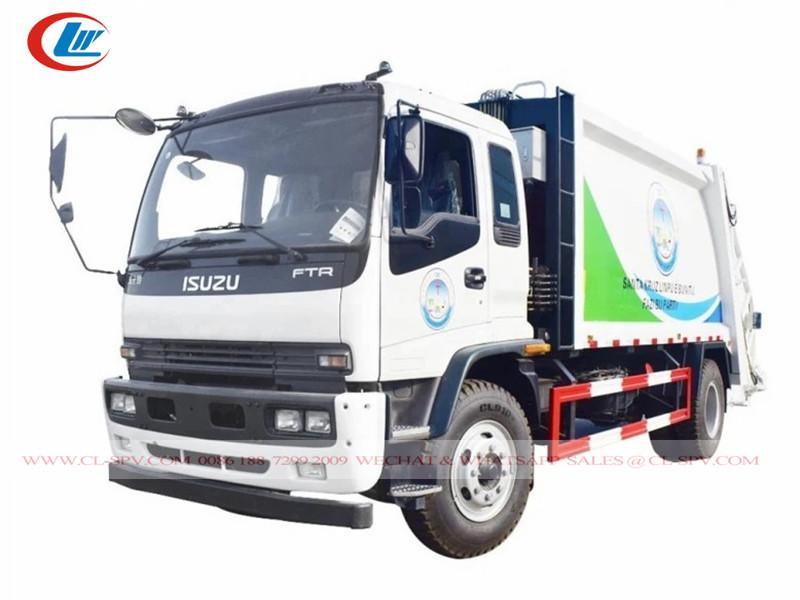 Isuzu FTR 10-12 compactador de basura m3-cubic