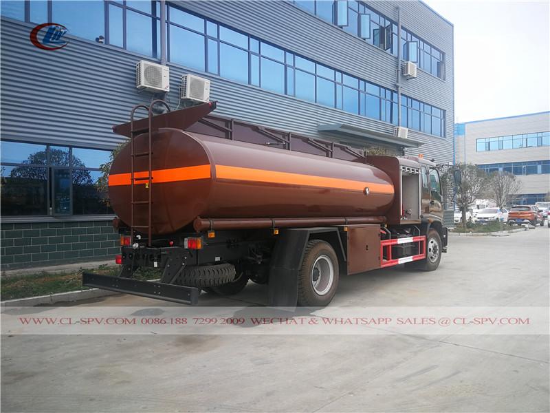 Isuzu Flughafen Tankwagen