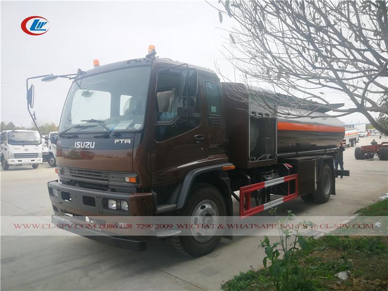 Isuzu FTR 10000 L aircraft refueling truck
