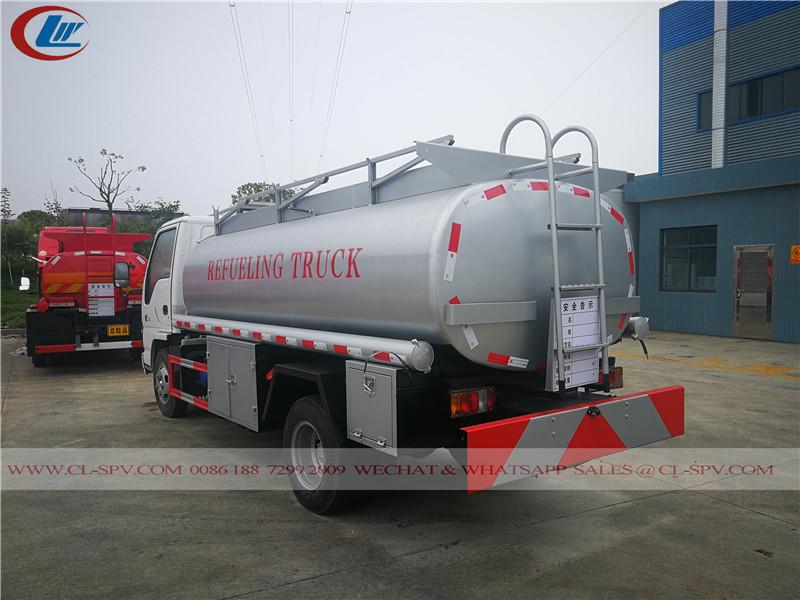 いすuzu 600P燃料補給トラック