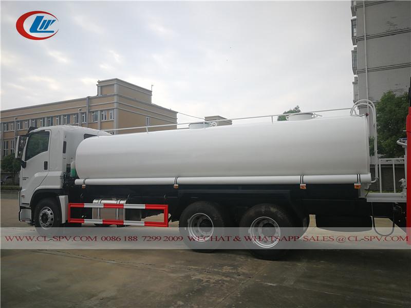 Isuzu GIGA 20000 liters water truck