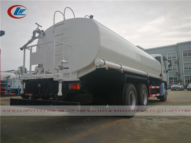 Isuzu GIGA 20000 liters drinking water transport truck