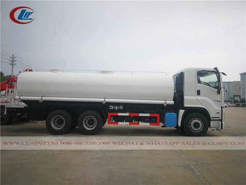 Isuzu GIGA 20000 liters 5200 Gallons water truck