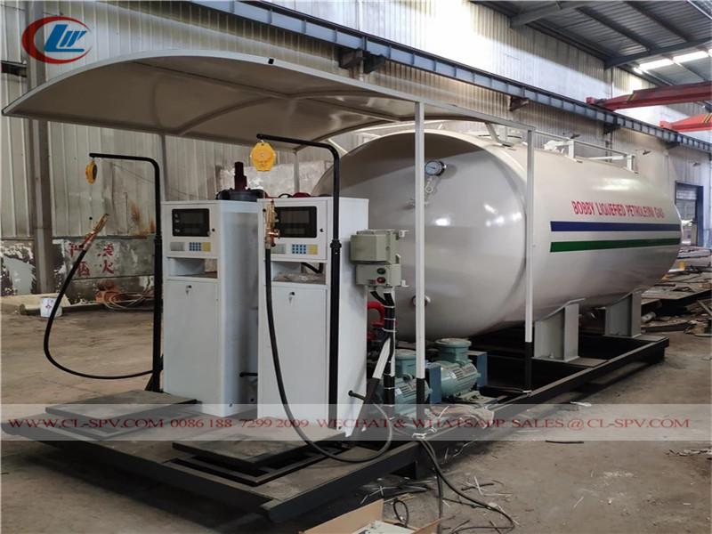 中国液化石油气加注罐