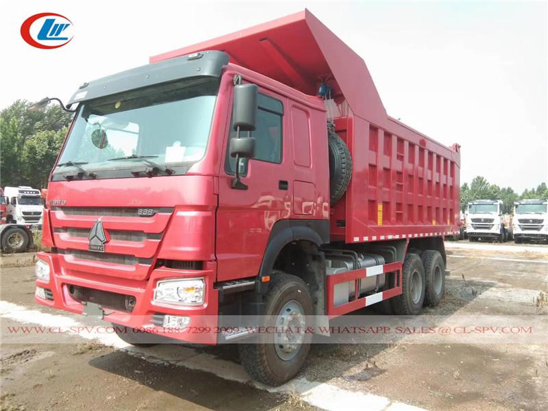 Howo 336 10 wheels dump truck