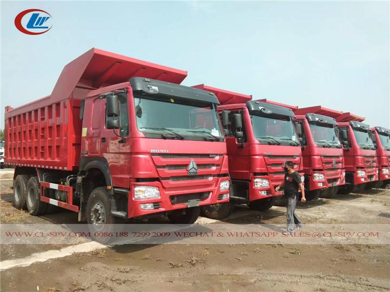 ہووو 336 25 ٹن ڈمپ ٹرک