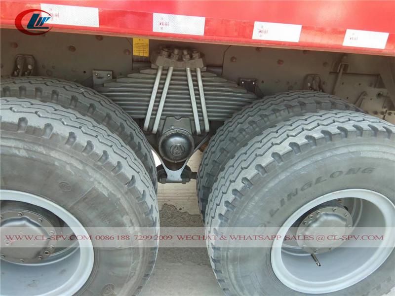 Howo 336 3 axles dump truck