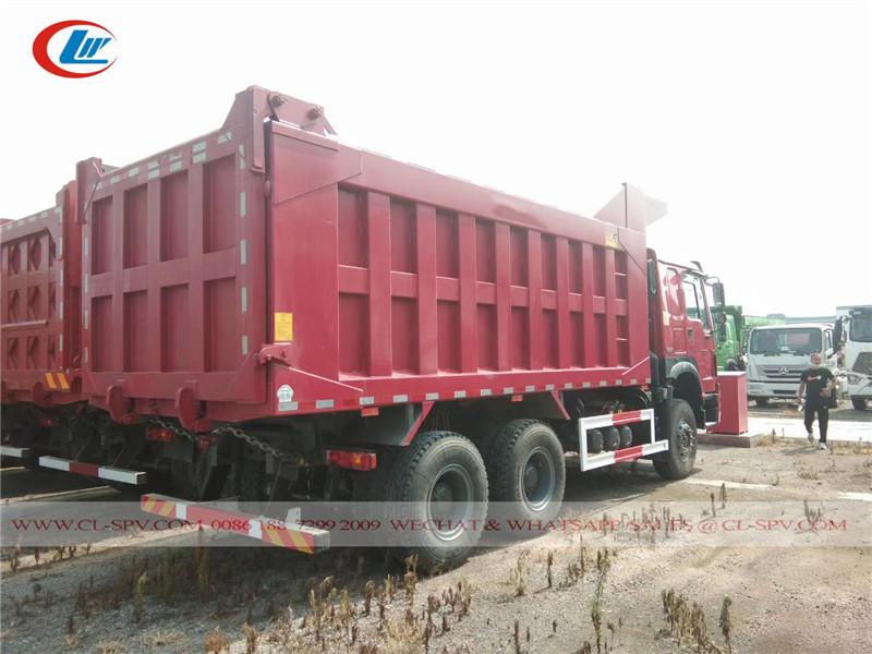 Howo 336 20 cbm dump truck