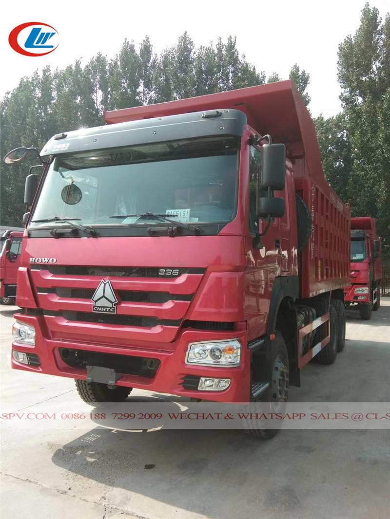 Howo dump truck factory price