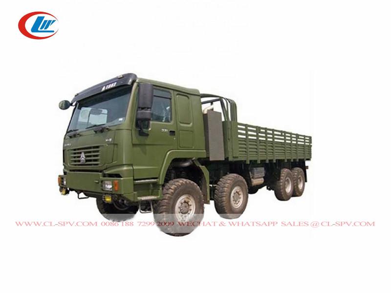 Camión de carga todoterreno Howo 8x8 AWD