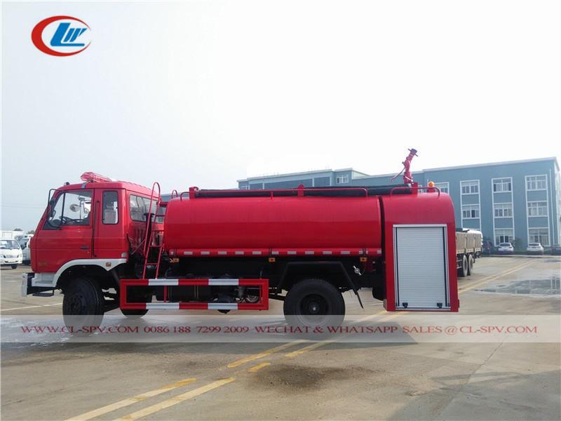 دونغفنغ 7500 ليتر 3200 شاحنة إطفاء المياه غال