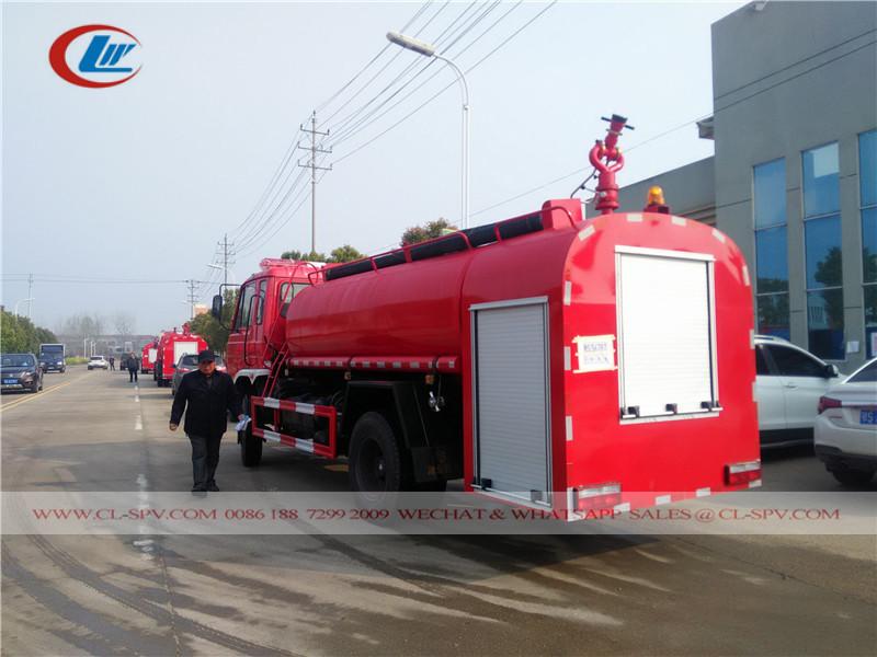 دونغفنغ 1600 شاحنة إطفاء المياه غال