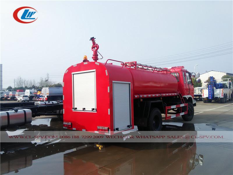 دونغفنغ 7500 شاحنة إطفاء المياه لتر