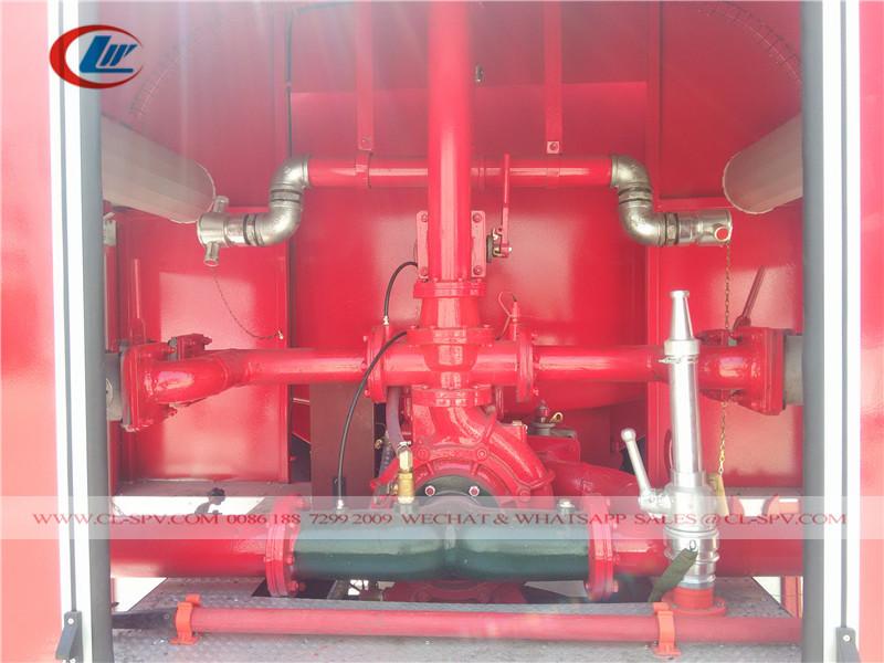 пожарный насос Dongfeng 7.5 тонн воды пожарная машина