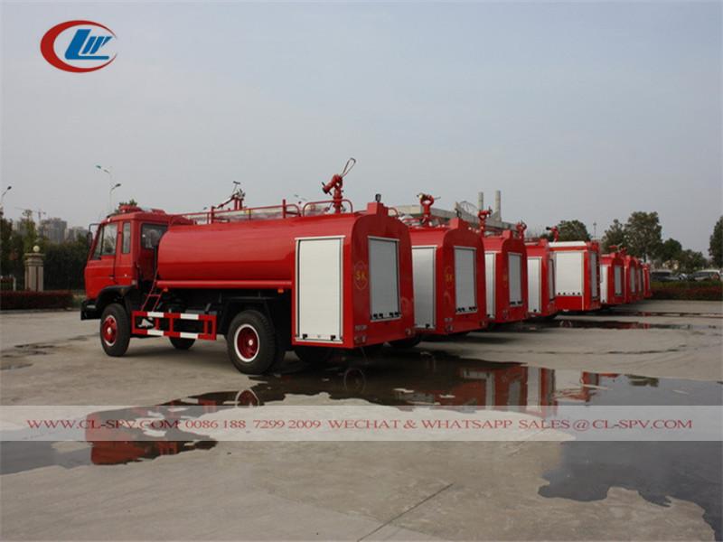 оптовые продажи Dongfeng 7.5 тонн воды пожарная машина