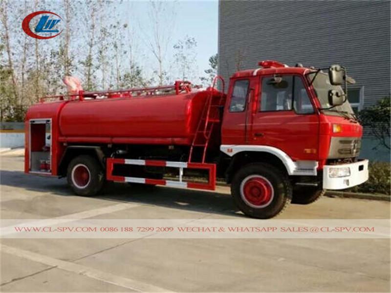 دونغفنغ 7.5 طن شاحنة إطفاء المياه