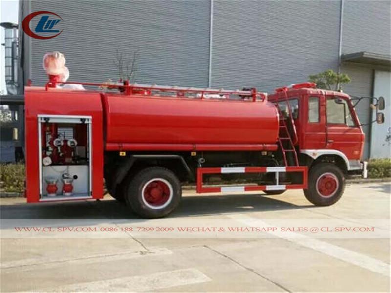 Dongfeng 7.5 Tonnen Wasser Feuerwehrauto