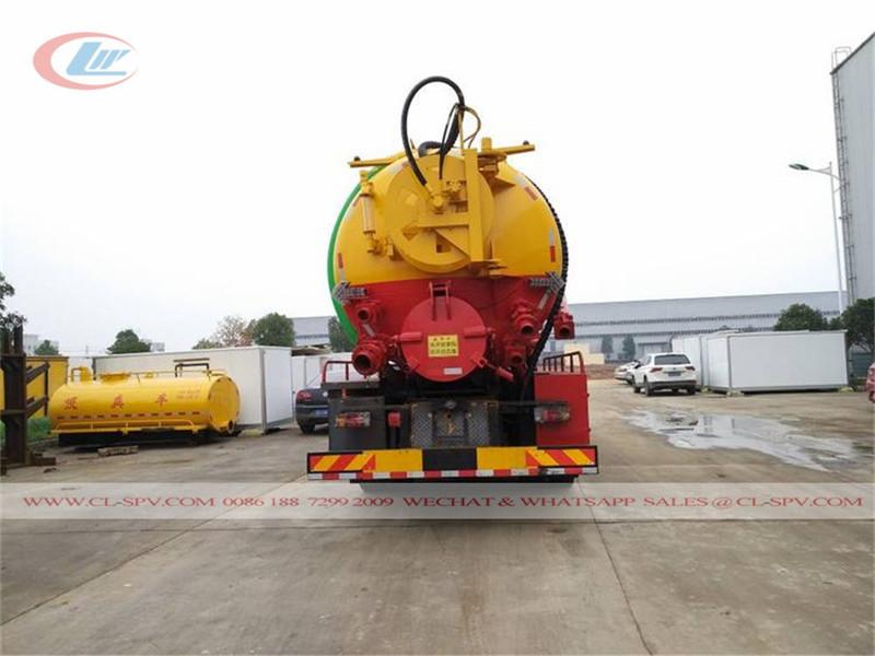 Isuzu VC GIGA series 15000-20000 vacuum sewage suction truck
