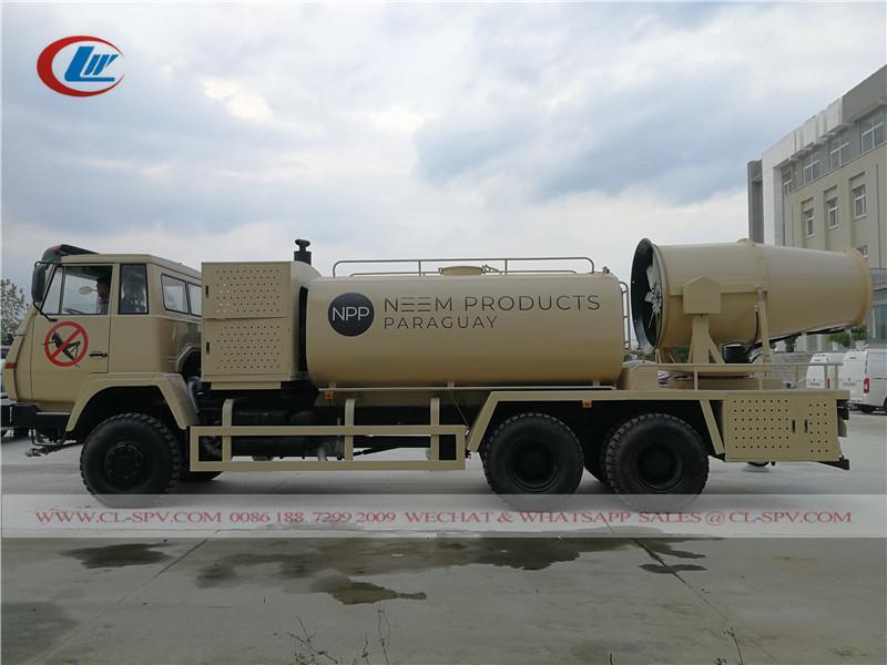 Camion de pulvérisation de pesticides Shacman Off Road 6x6