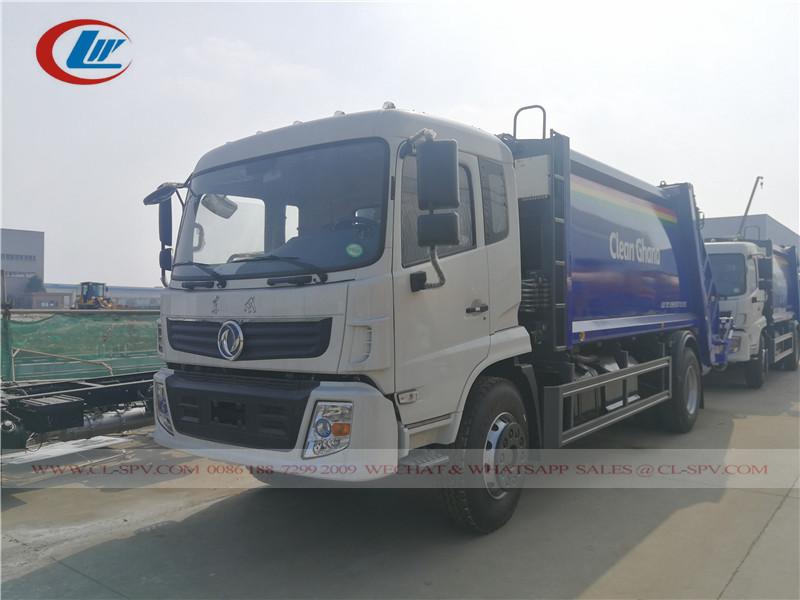 Camion compacteur d'ordures Dongfeng au Ghana