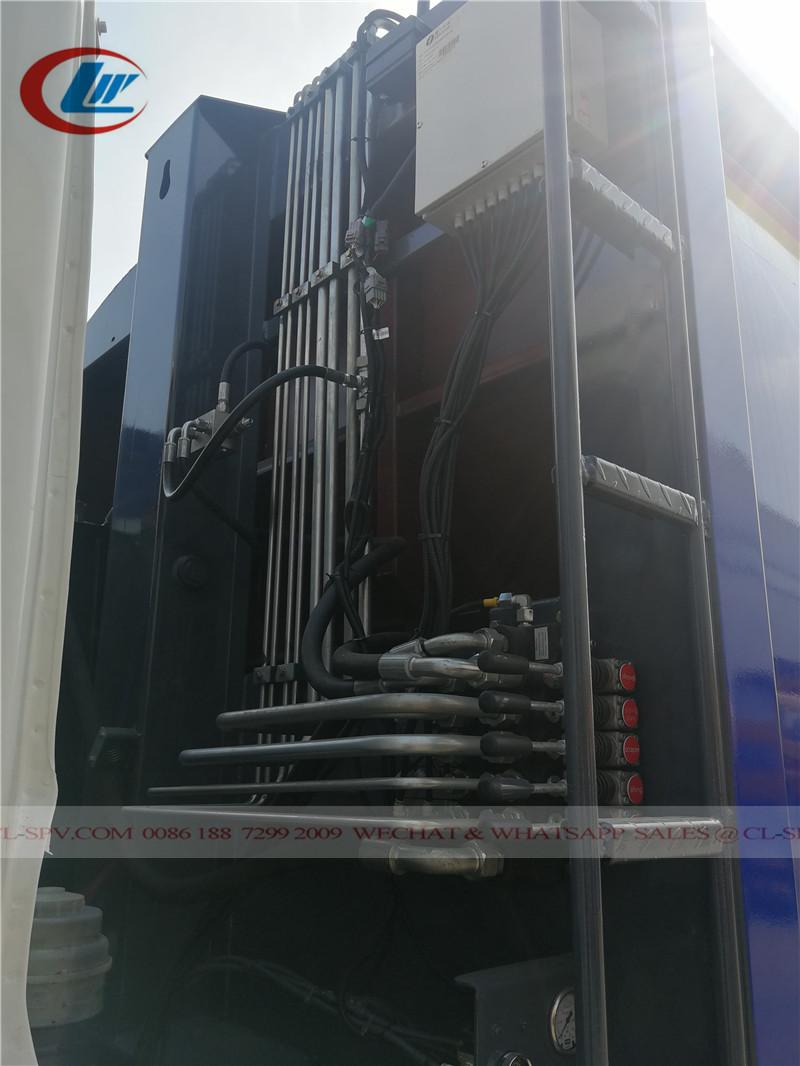Valve hydraulique de camion compacteur Dongfeng