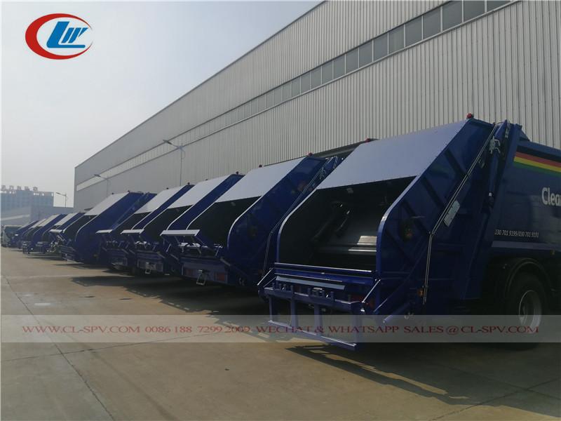 Commerce de gros de camion compacteur à ordures Dongfeng 15000L