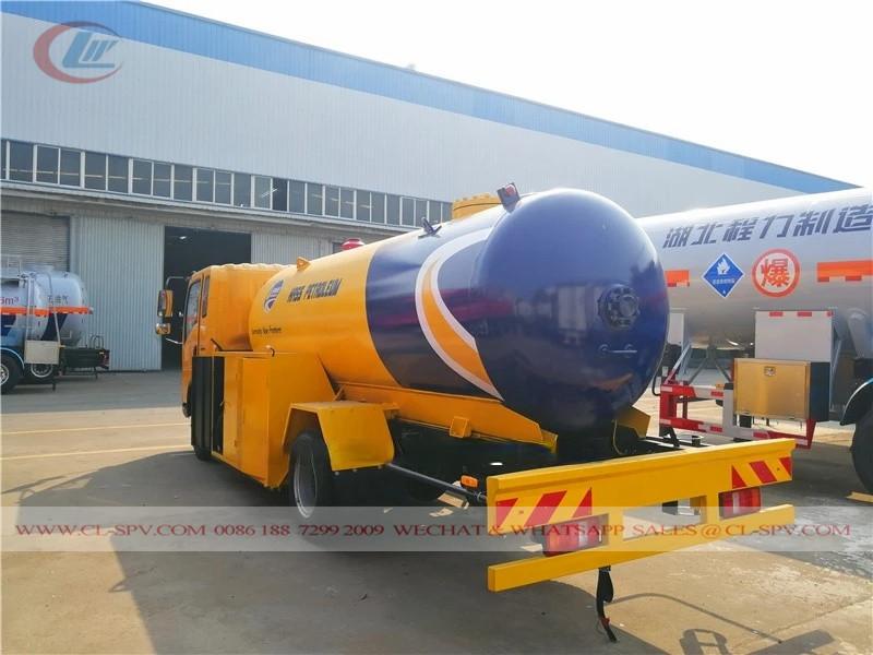 HOWO LPG tanker to Nigeria