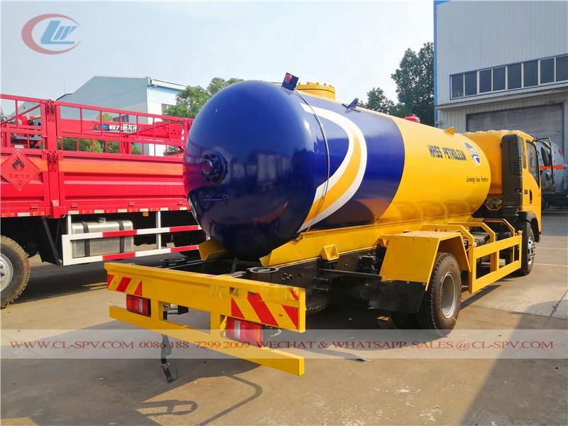Cisterna de llenado de GLP HOWO a Nigeria