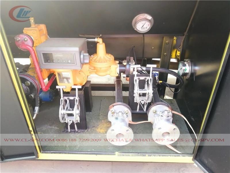 HOWO 5000L液化石油气卡车运往尼日利亚