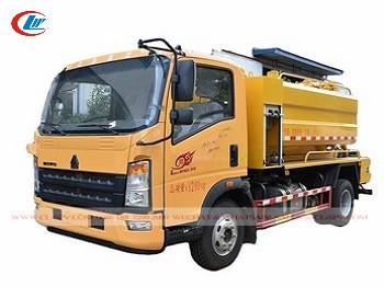 Camion dei rifiuti delle acque luride di vuoto di Howo