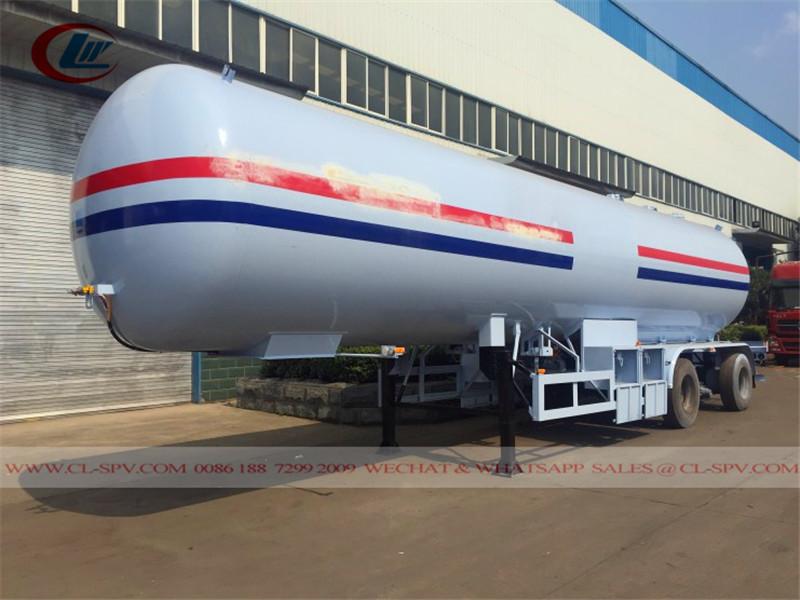 3 eixos 60cbm reboque tanque gpl para a Nigéria