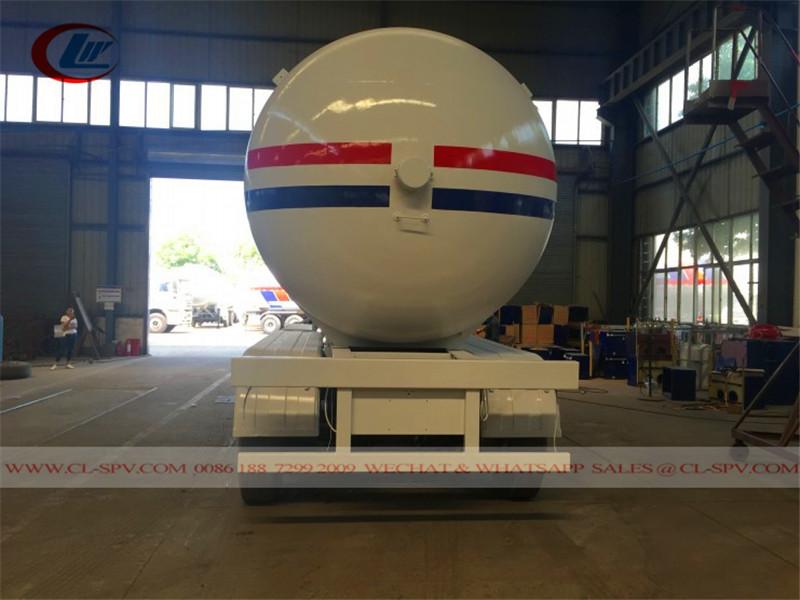 3 车轴60cbm液化石油气坦克拖车到尼日利亚