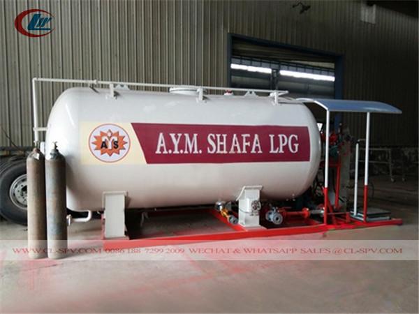 China 5000 litros estación de deslizamiento de GLP