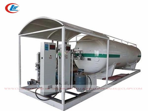 China 5000 liters LPG skid station