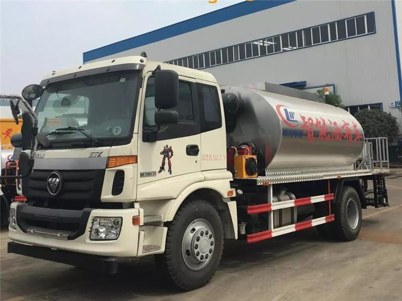 Foton 10 cbm Bitumen Sprayer Truck